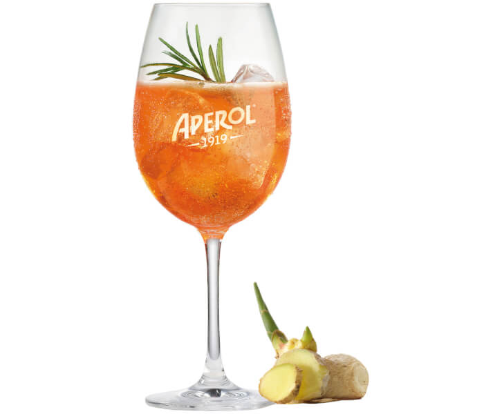Aperol Spicy Ginger Cocktail