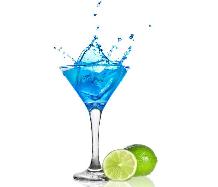 Blue Lady Cocktail
