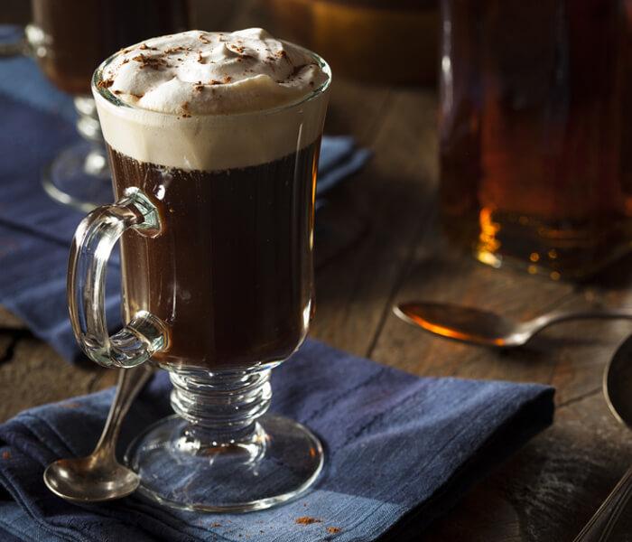 Irish Coffee Heißgetränk