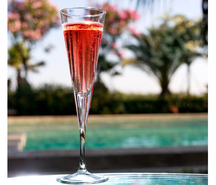 Kir Royal Cocktail