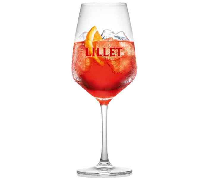 Lillet Rouge Tonic Cocktail