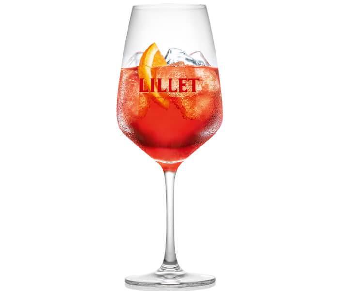 Lillet Rouge Tonic Cocktail