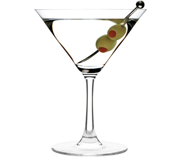 Martini Dry Shortdrink