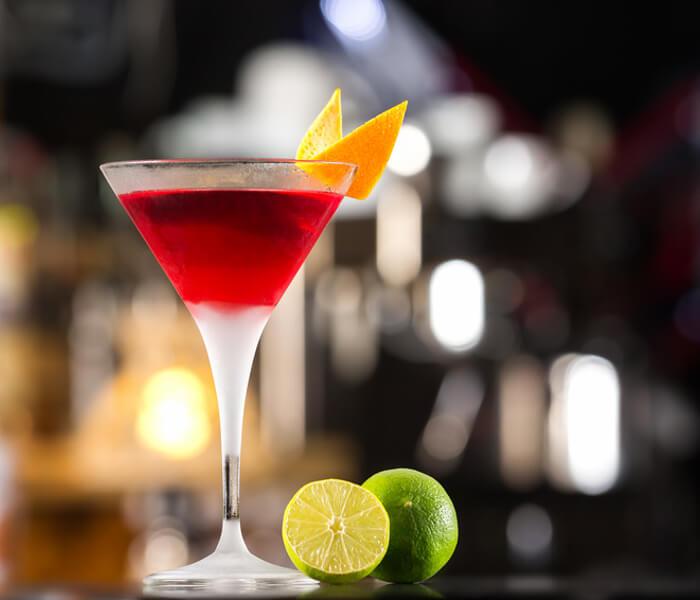 Negroni Bunga Bunga Cocktail