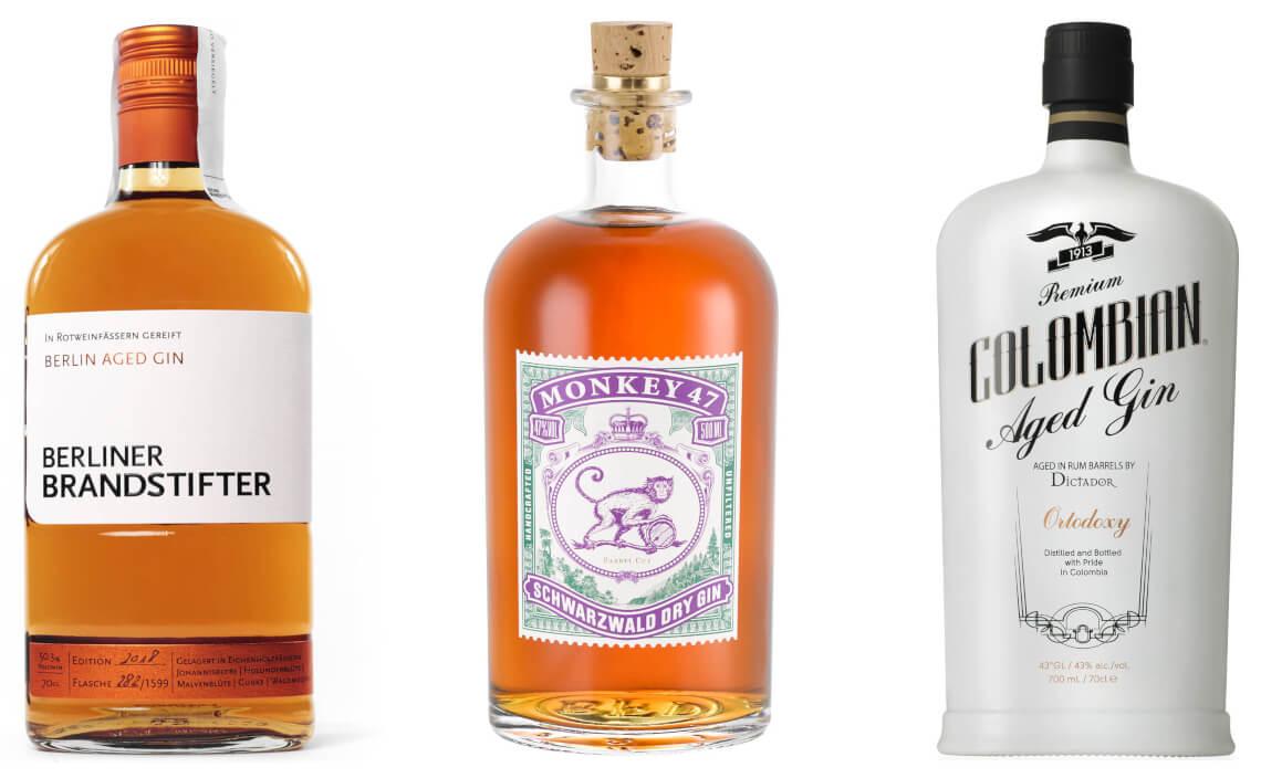 reserve gin und barrel aged gin sorte