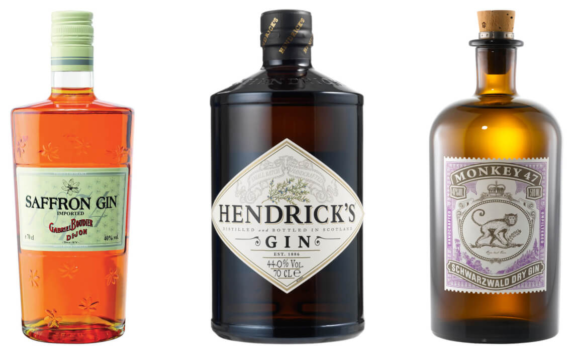new western dry gin sorte