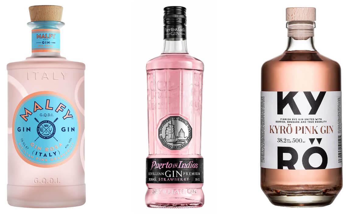 pink gin sorte