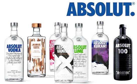 absolut vodka - markenseite sorten-übersicht