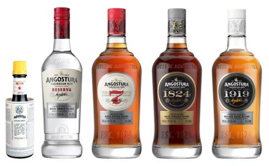angostura rum - markenseite sorten-übersicht