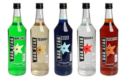 bar star spirituosen - markenseite sorten-übersicht