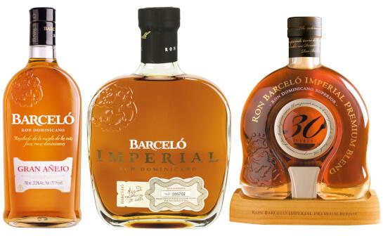 ron barcelo rum - markenseite sorten-übersicht