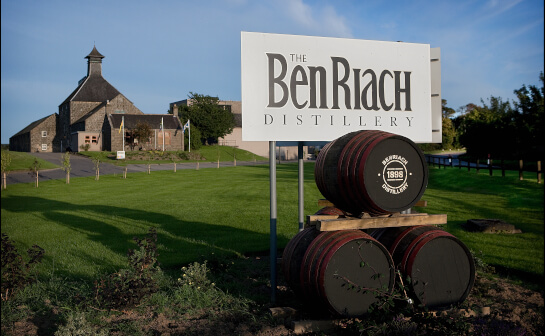 benriach whisky - markenseite sorten-übersicht