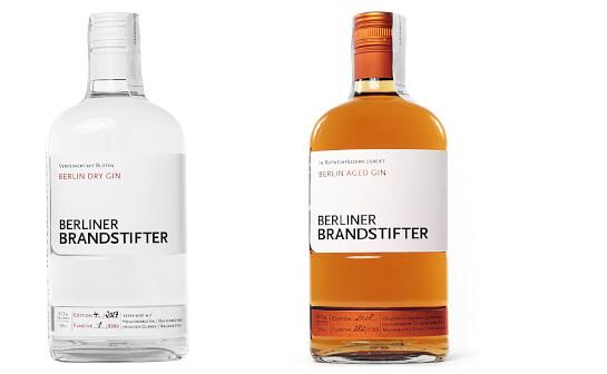 berliner brandstifter spirituosen - markenseite sorten-übersicht