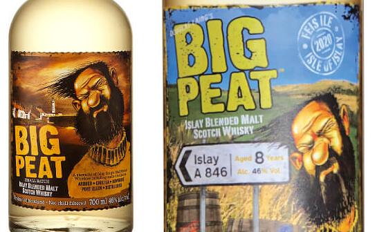 big peat whisky - markenseite sorten-übersicht