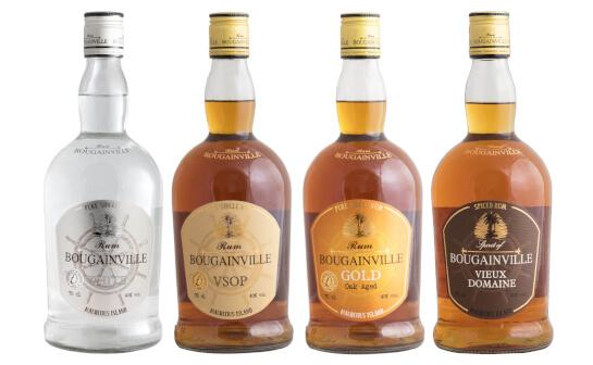 bougainville rum - markenseite sorten-übersicht