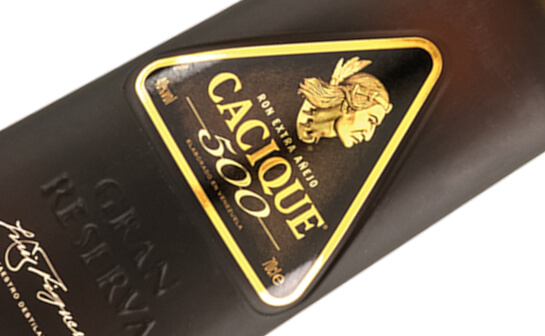 cacique rum - markenseite sorten-übersicht