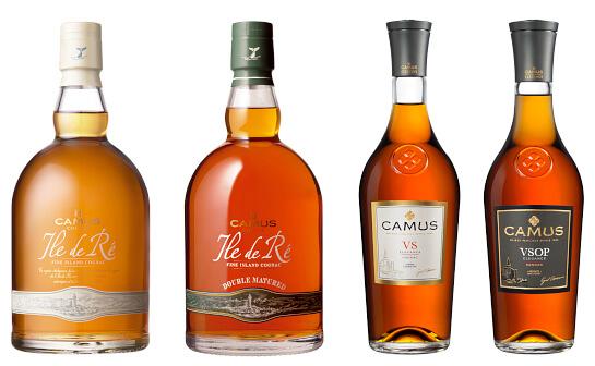 camus cognac - markenseite sorten-übersicht
