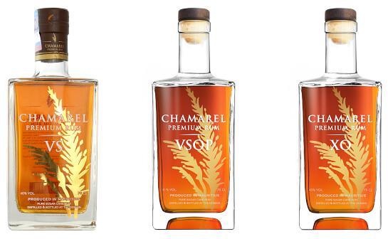 chamarel rum - markenseite sorten-übersicht