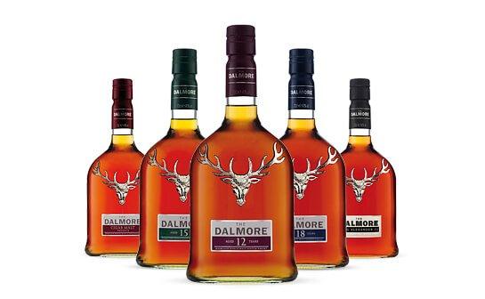 dalmore whisky - markenseite sorten-übersicht