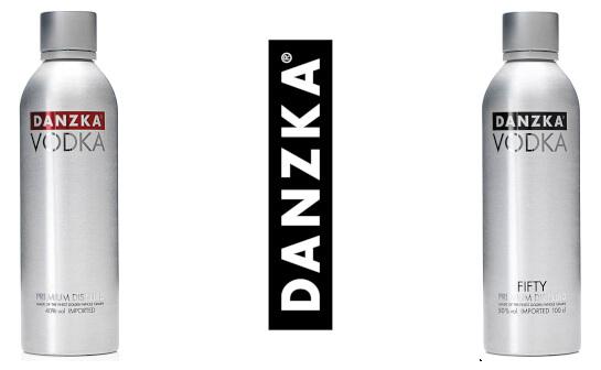 danzka vodka - markenseite sorten-übersicht