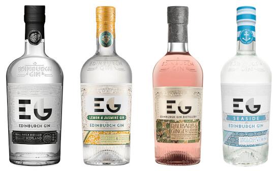 edinburgh gin - markenseite sorten-übersicht