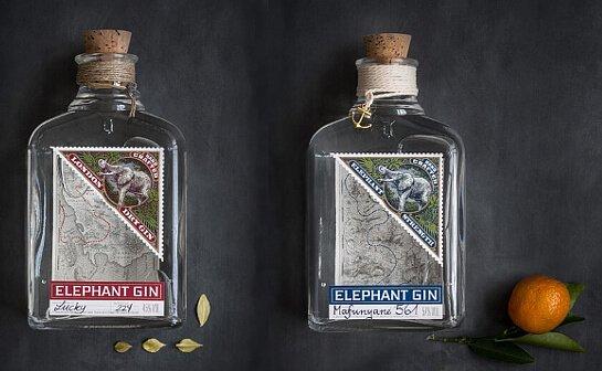 elephant gin - markenseite sorten-übersicht