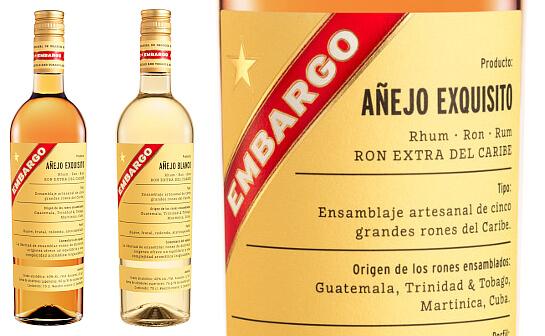 embargo rum - markenseite sorten-übersicht