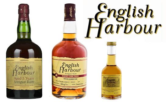 english harbour rum - markenseite sorten-übersicht