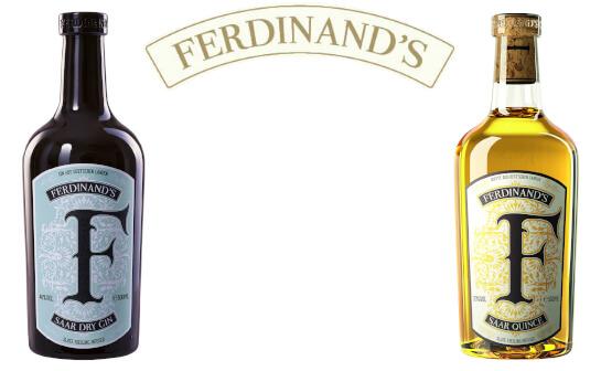 ferdinand gin und vermouth - markenseite sorten-übersicht