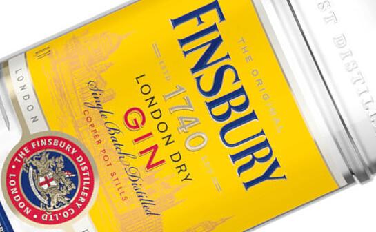 finsbury gin - markenseite sorten-übersicht