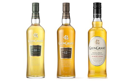 glen grant whisky - markenseite sorten-übersicht