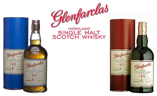 glenfarclas whisky - markenseite sorten-übersicht