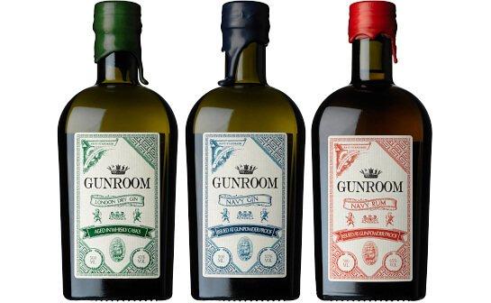 gunroom spirituosen - markenseite sorten-übersicht