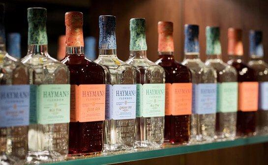 haymans gin - markenseite sorten-übersicht