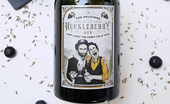 Huckleberry Gin - markenseite sorten-übersicht