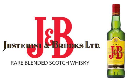 j and b whisky - markenseite sorten-übersicht