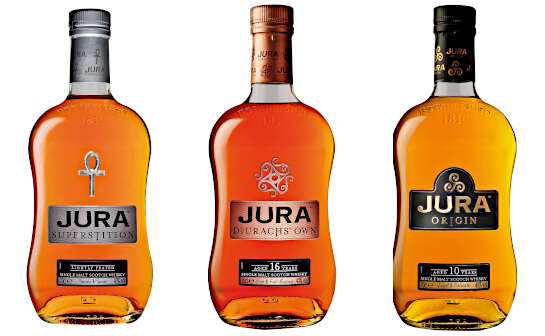 jura whisky - markenseite sorten-übersicht