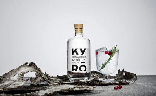 kyrö gin - markenseite sorten-übersicht