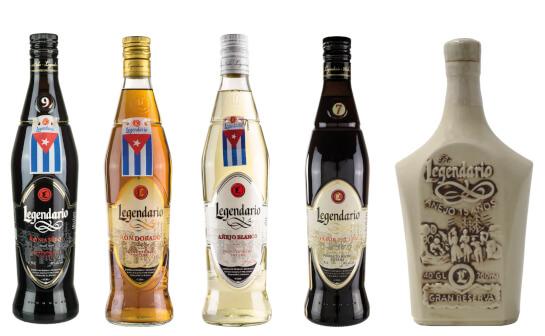 legendario rum - markenseite sorten-übersicht