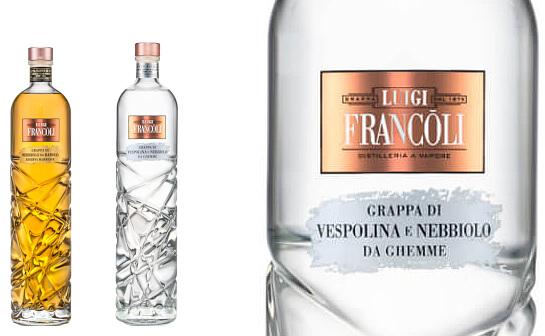 francoli grappa - markenseite sorten-übersicht