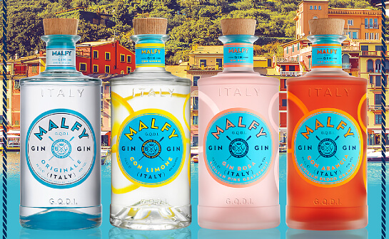 malfy gin - markenseite sorten-übersicht