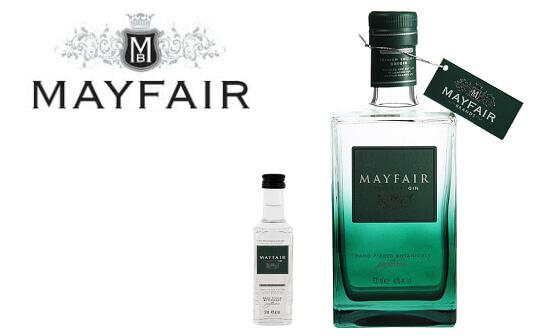 mayfair gin - markenseite sorten-übersicht