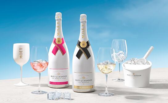 moet chandon champagner - markenseite sorten-übersicht