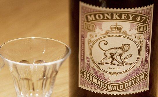 monkey 47 gin - markenseite sorten-übersicht