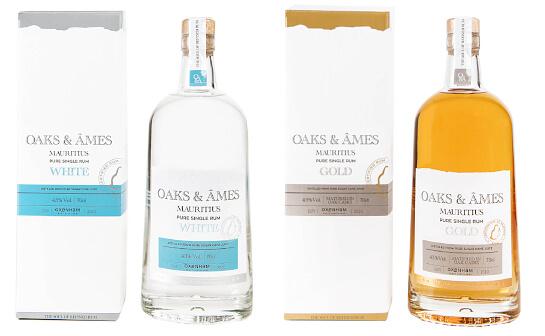oaks and ames rum - markenseite sorten-übersicht