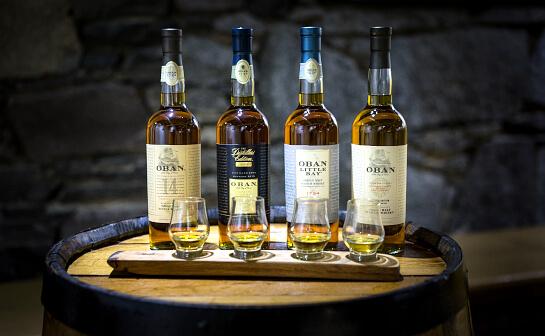 oban whisky - markenseite sorten-übersicht