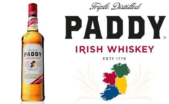 paddy irish whiskey - markenseite sorten-übersicht