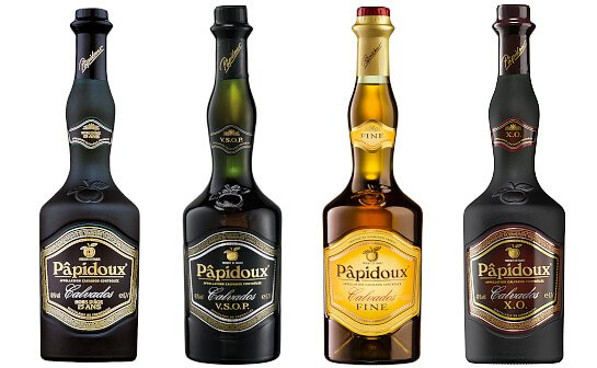 papidoux calvados - markenseite sorten-übersicht