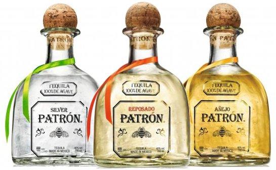 patron tequila - markenseite sorten-übersicht
