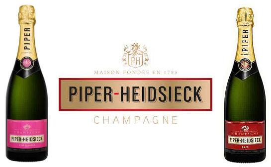 piper heidsiek champagner - markenseite sorten-übersicht